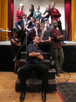 The cast and directing team!